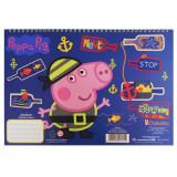 Cahier de dessin Peppa Pig livre de coloriage Stickers Regle Pochoir Disney