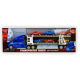 Grand camion avec 6 voiture jouet remorque porte voitures