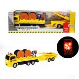 Camion de chantier 32 cm jouet lumiere panneau