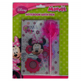 Journal intime + stylo Minnie carnet secret