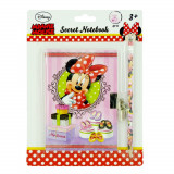 Journal intime + crayon Disney Minnie carnet secret