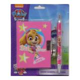 Journal intime et stylo La Pat Patrouille Disney carnet secret F