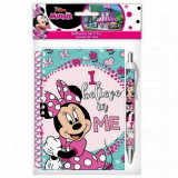 Carnet spirale 10 x 15 + stylo Minnie Mouse