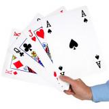 Jeux de 54 cartes XXL, carte geante 28 x 20 cm