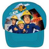Casquette Sam le Pompier 52 a 54 cm enfant bleu