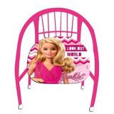 Chaise en metal Barbie fauteuil enfant siege