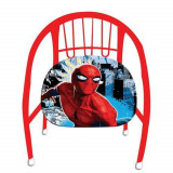 Chaise en metal Spiderman fauteuil enfant siege