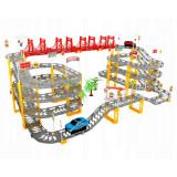 Circuit de 8 metres garage voiture course rallye