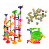 Circuit a bille 105 pieces jouet enfant construction parcours