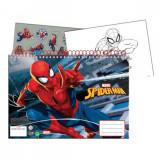 Cahier de dessin Spiderman livre de coloriage A4 + Stickers autocollant
