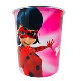 Corbeille a Papier Ladybug Poubelle Enfant Disney