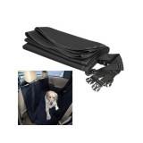Couverture de protection voiture chien chat noir Housse siege banquette