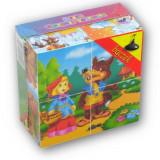 Puzzle cube, les contes, enfant bébé
