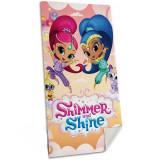 Drap de bain Shimmer et Shine serviette plage enfant