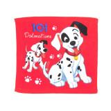 1 serviette Disney, 101 Dalmatiens essuie main 30x30cm coton ecole