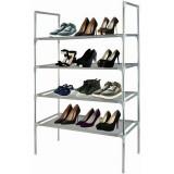 Etagere a chaussure 12 paires 4 etages rangement Armoire Meuble tissus