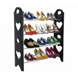 Etagere a chaussure 12 paires 4 etages rangement Armoire Meuble