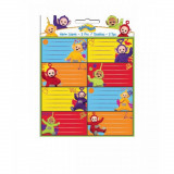 Lot de 16 étiquette Les teletubbies Disney cahier enfant