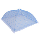 Cloche parapluie alimentaire pliante fruit bleu