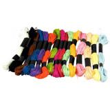 15 rouleau de fils en coton 8m multicolores bracelets bresiliens