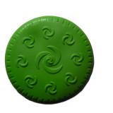 Frisbee pour chien, jouet caoutchouc vert