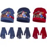Bonnet et gants Mario Bross Nintendo hiver