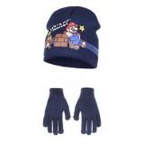 Bonnet et gants Mario Bross Nintendo enfant