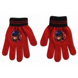 Gants Miraculous Ladybug Disney enfant hiver rouge
