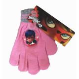 Gants Miraculous Ladybug Disney enfant hiver rose