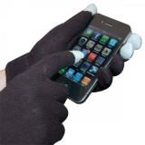 Gant écran tactile noir Finger touch
