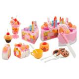 Gateau a decouper et biscuit fruit 75 pieces cuillere glace jouet dinette marchand