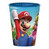 Gobelet Mario Bross Nintendo Disney verre enfant plastique