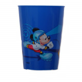 Gobelet Mickey Mouse Disney verre plastique enfant bleu F