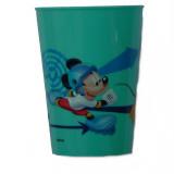 Gobelet Mickey Mouse Disney verre plastique enfant bleu clair