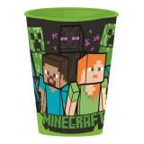Gobelet Minecraft Plastique Enfant Verre Reutilisable