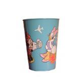Gobelet Minnie Disney verre plastique enfant  bleu