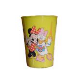 Gobelet Minnie Disney verre plastique enfant jaune