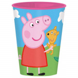 Gobelet Peppa Pig, verre plastique enfant