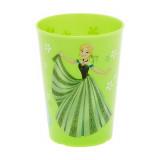 Gobelet La Reine des neiges verre plastique Frozen vert