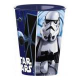 Gobelet Star Wars verre plastique Disney enfant bleu