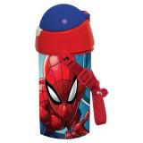 Gourde Spiderman Enfant Bouteille Sangle réutilisable Paille