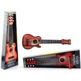 Guitare acoustique folk 45 cm, 6 cordes métalliques, enfant jouet