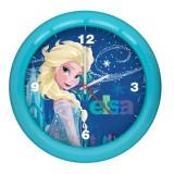 Horloge murale La Reine des Neiges montre bleu