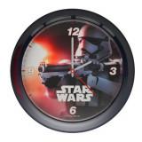 Horloge murale Star Wars montre noir