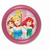 Horloge murale Princesse montre rose 2