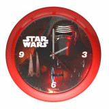 Horloge murale Star Wars montre rouge