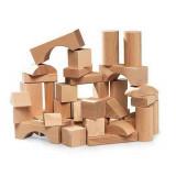 Jeu de construction en bois 50 pieces enfant