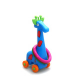 Jeu d'adresse girafe lancer d'anneau balle jouet enfant