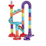 Circuit a bille 45 pieces jouet enfant construction parcours