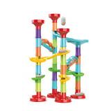 Circuit a bille 50 pieces jouet enfant construction parcours